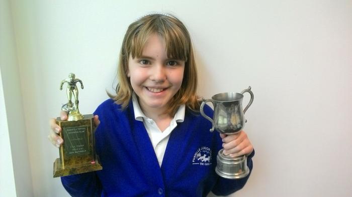 Amber - Best Swimmer!