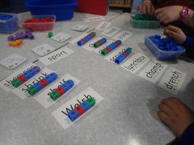 Phonics being used in Guided Reading.