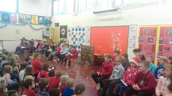 Our Advent assembly