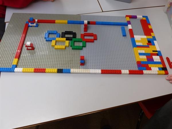 Lego like the olympic rings