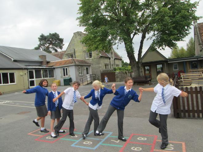 We made playground sketches about friendship.