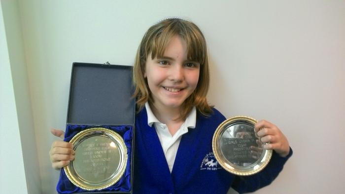 Amber - 100m swimming awards