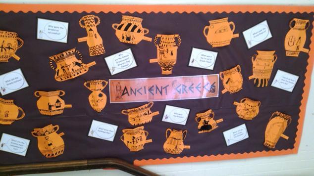 We've been studying Greek vases...