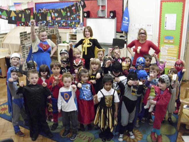 Yellow Class Superheroes
