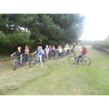 Ready for the mountain biking skills course