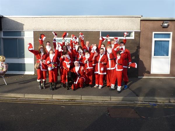 The 2013 Ashmount Santa Team