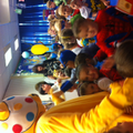 Our children were so happy to see Pudsey