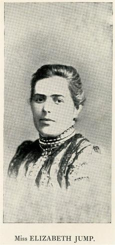 "Miss ""Lizzie"" Jump, Head of Infants, 1891 - 1926"