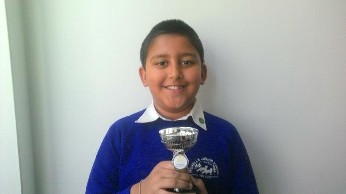 Ajay - multi sports award!