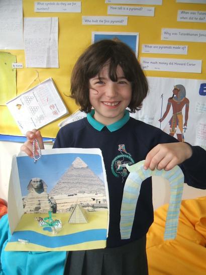 Egyptian headress