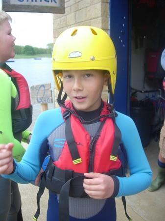Kayaking at Rutland Water