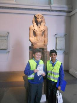 Year 6 - British Museum London - January 2015 3