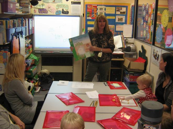 Phonics Workshop for Year 1 parents
