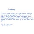 Leadership  by Rose Shadbolt