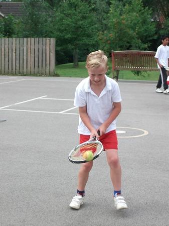 Tennis, with Phil from Eastwood Tennis Club!
