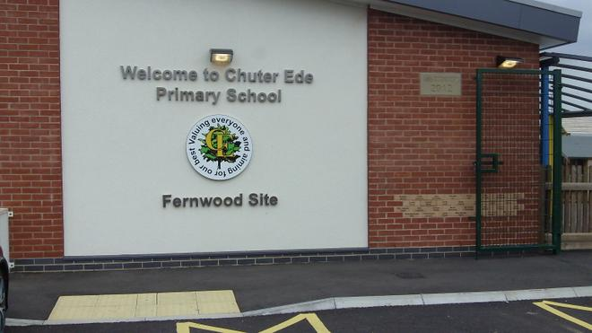 School Logo and opening plaque