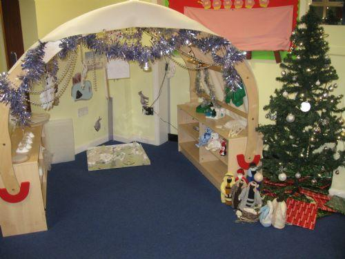 Our Kazbar has changed into a winter wonderland!!