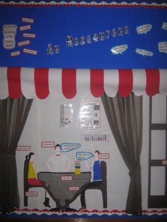 Some displays around school