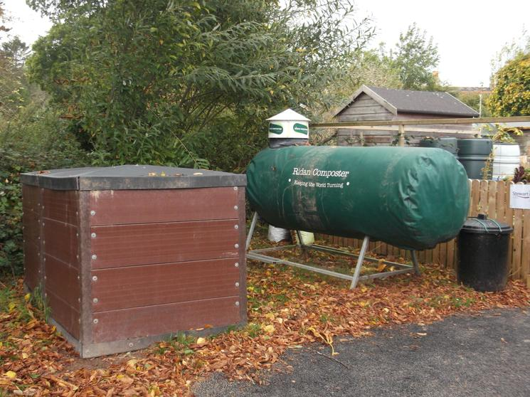 The Composting Area