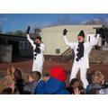 Mrs Stepp and Ms Morris    'Snowmen'