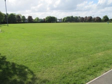 Floodlit field for rugby, football, cricket etc