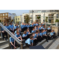 NLS Choir 'Chillax' proir to the big performance