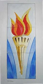 The Torch of St. Aidan