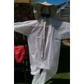 The beginnings of our scarecrow - Thanks to Mr Eva