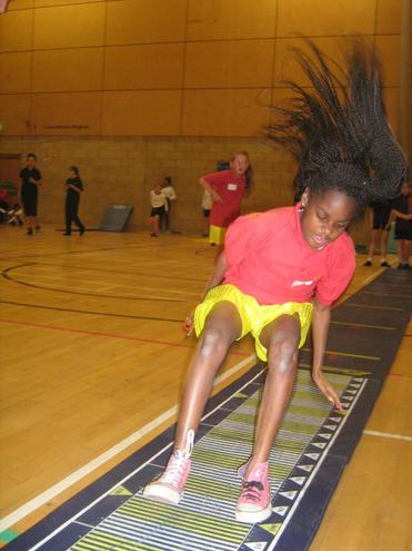 Year 5/6 come 2nd in Sportshall athletics