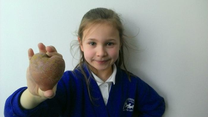 Lucia - We love potatoes! (Particularly this one!)