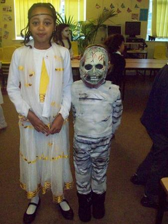 Dressing up for Ancient Egyptian Day