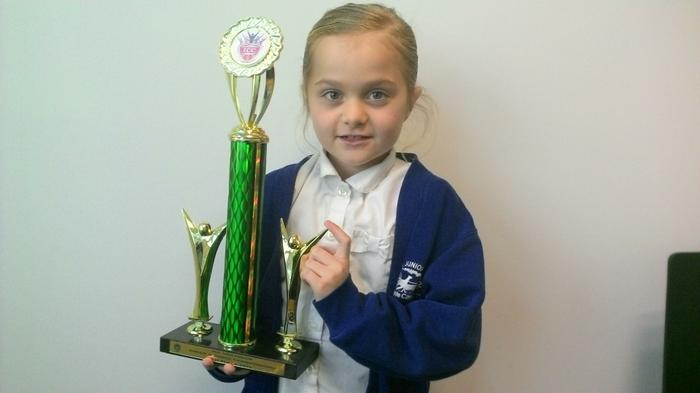 Ebony (3NH) - Cheer and Dance competition winner!