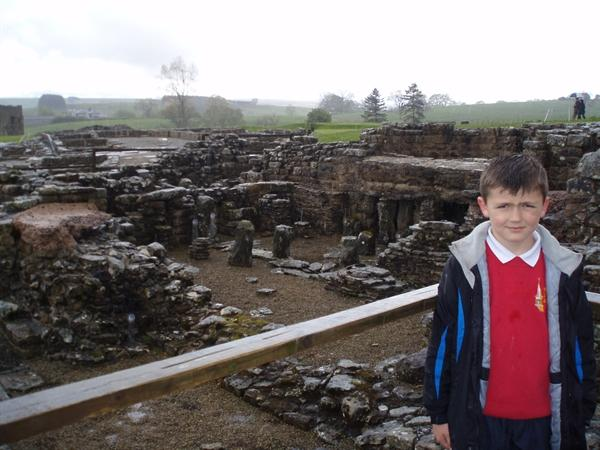 Tepidarium WARM room and furnace