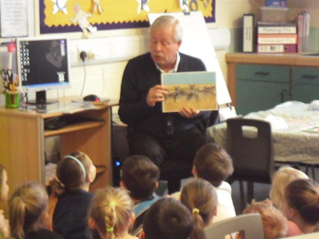 Mr Glover talked about his visit to Uganda