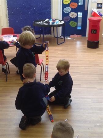 Teamwork! How tall can we make it?