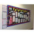 Term 1 'Fairgrounds' Topic display board
