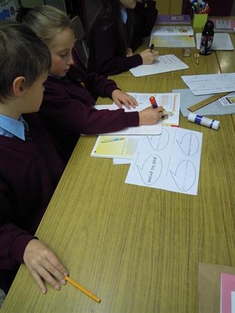 Literacy group work - metaphorical phrases
