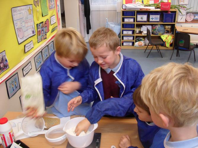 We made bread for harvest – it was a good bake – Paul & Mary would have been proud!