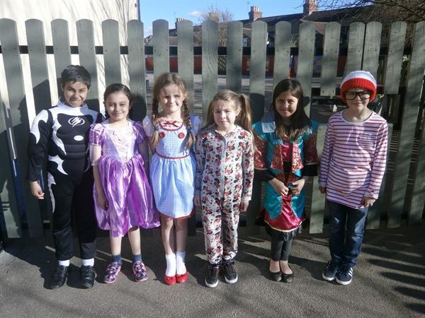 3ZL on Book Character day