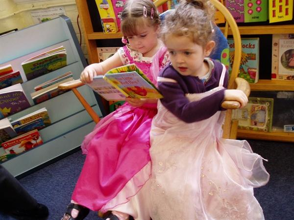 Sharing a fairy story