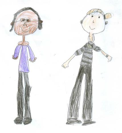 Mrs Lalor and Mrs Rahman - Orange Class