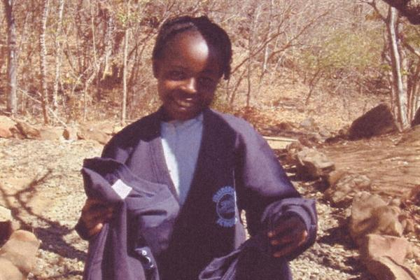 Esther aged 8yrs