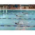 KASP Swimming Gala - A very close finish!