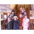The SS Nomadic - some of the passengers