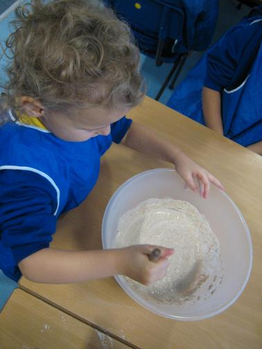 We made chapatis.