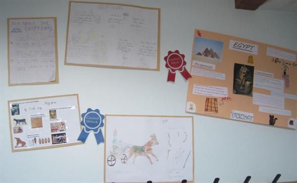 Egypt homework display