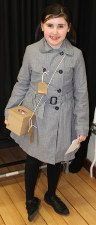 Year 4 winner -Lucy from The Chronicles of Narnia