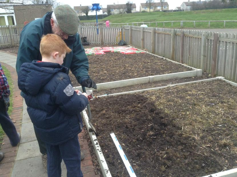 Using our own compost