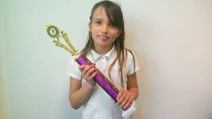 Courtney Y6 - Free Dance winner!