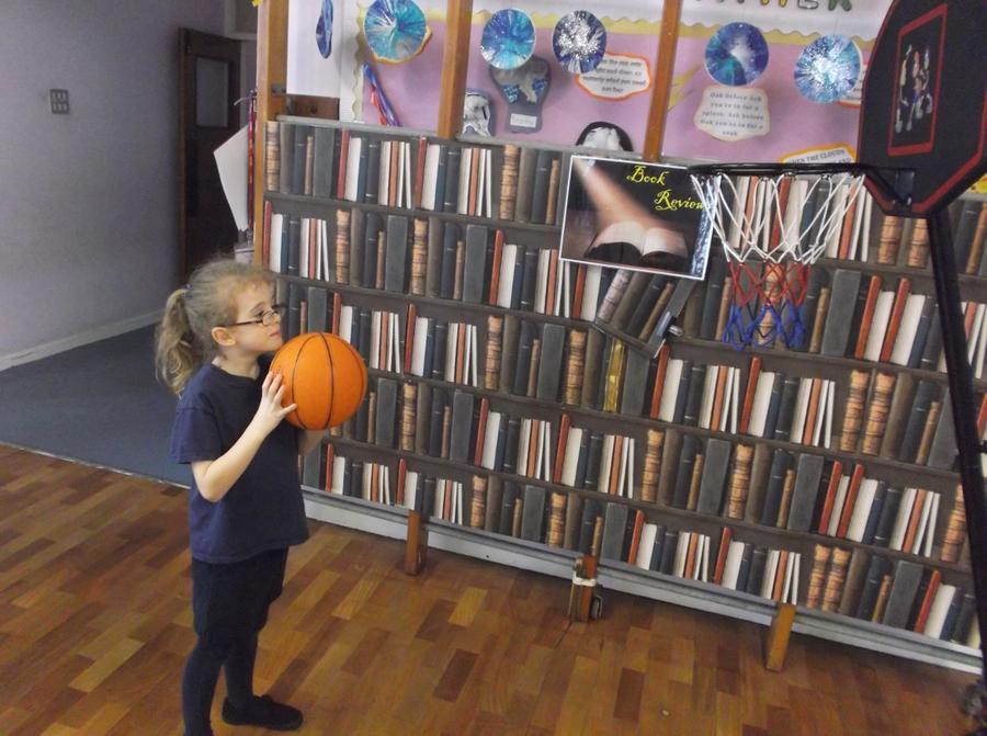 Throwing - basketball